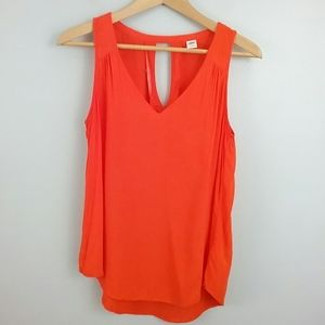 Old Navy//Darling Clementine Keyhole Tank Top